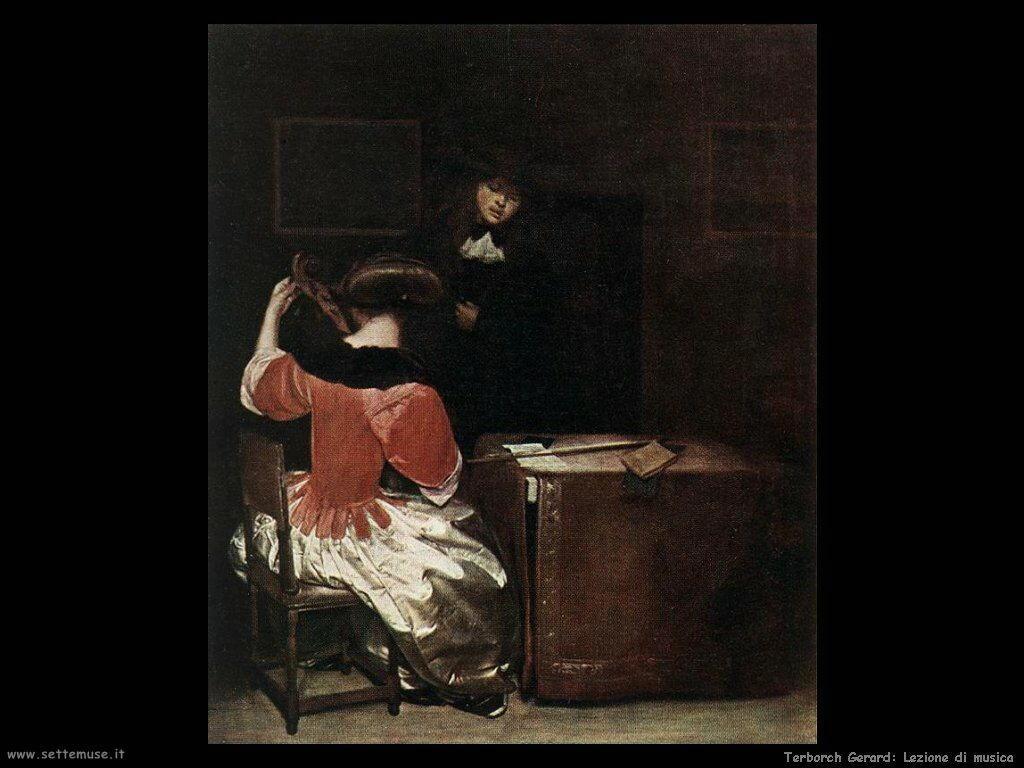 Terborch Gerard Lezione di musica