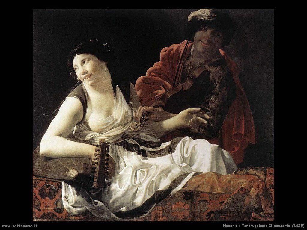 Terbrugghe Hendrick Il concerto (1629)