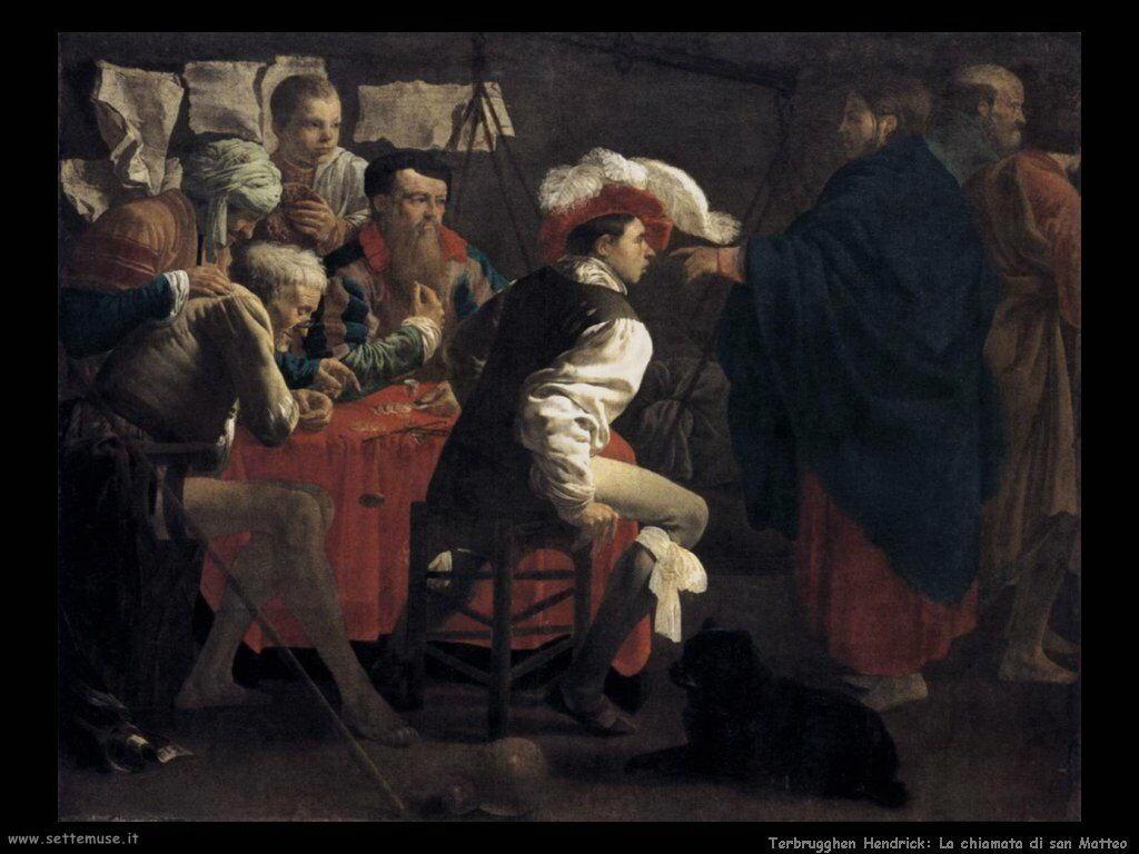 Terbrugghe Hendrick La chiamata di San Matteo