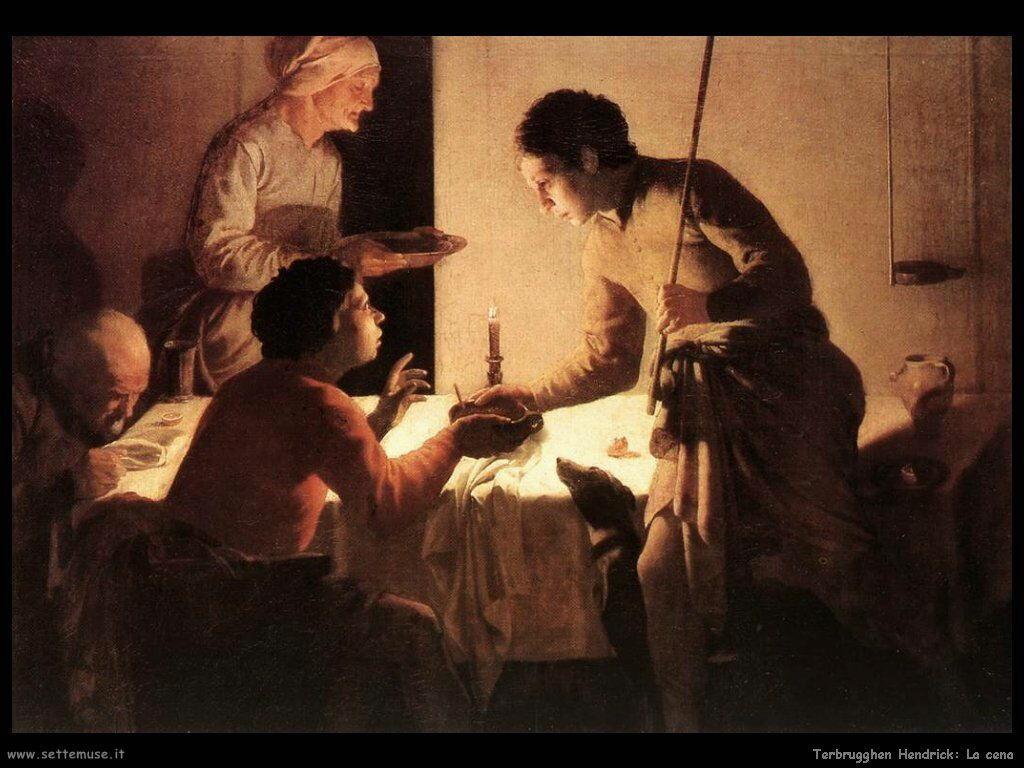 Terbrugghe Hendrick Esau cede la primogenitura