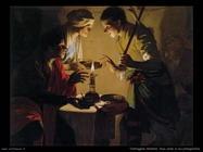 Terbrugghe Hendrick Esau cede la primogenitura (dettaglio)