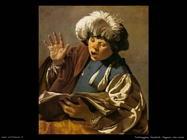 Terbrugghe Hendrick Ragazzo che canta