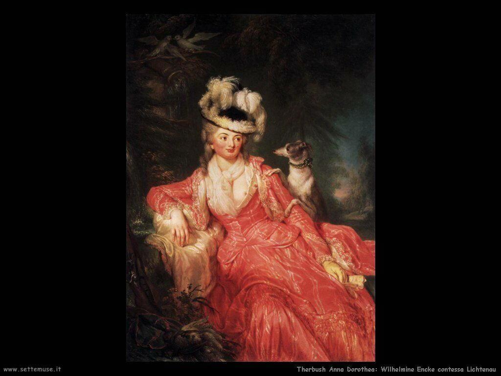 Therbusch Anna Dorothea Wilhelmine Contessa