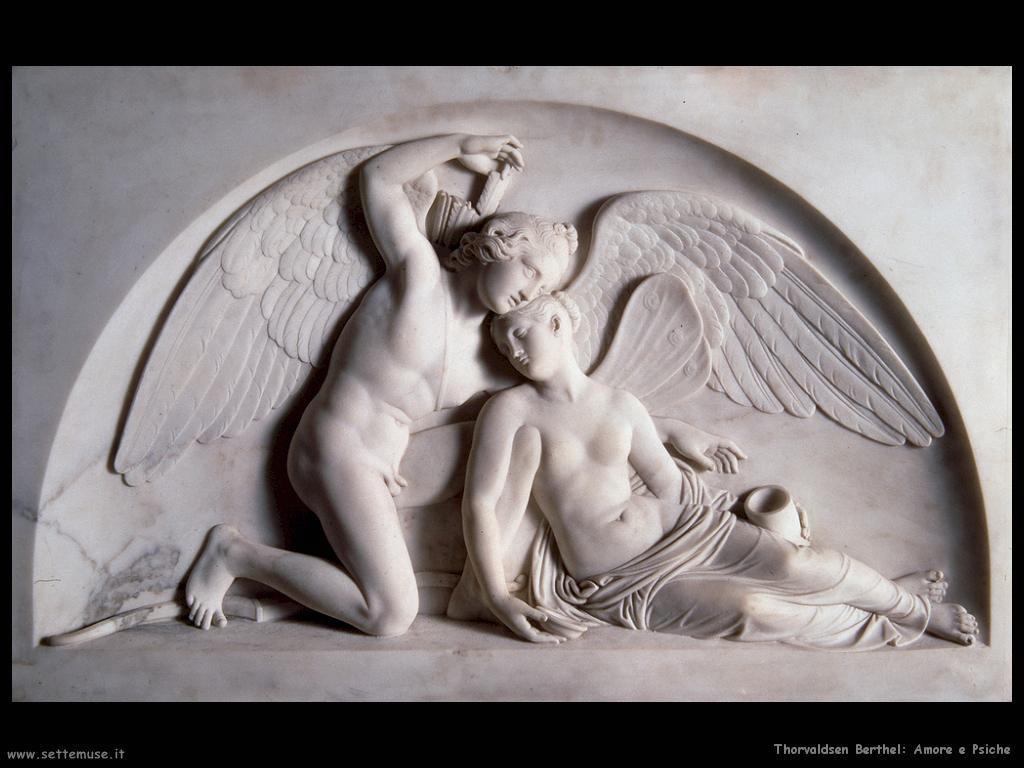 Thorvaldsen Berthel Amore e Psiche