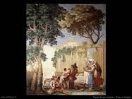 Tiepolo Giovanni Domenico  Pranzo famigliare