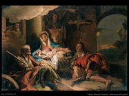 Tiepolo Giovanni Domenico Adorazione dei pastori