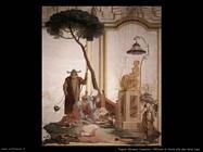 Tiepolo Giovanni Domenico Offerta di frutti alla dea