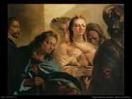 Tiepolo Giovanni Domenico Cristo e l'adultera