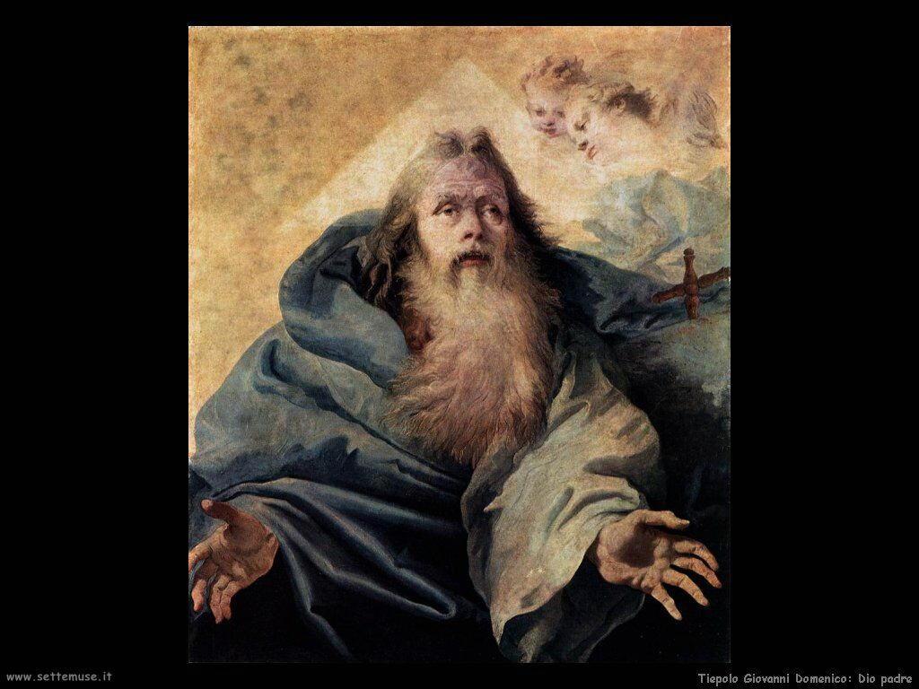 Tiepolo Giovanni Domenico Dio Padre