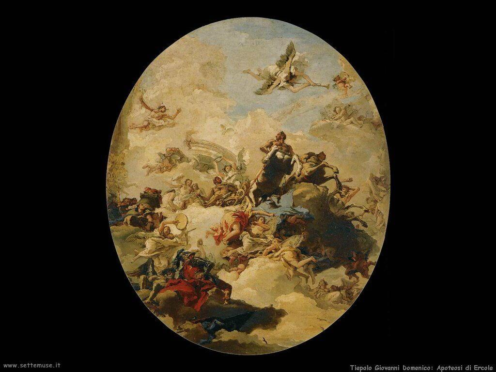 Tiepolo Giovanni Domenico Apoteosi di Ercole