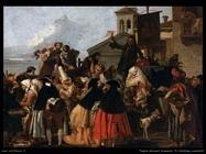 Tiepolo Giovanni Domenico Ciarlatano dei cavadenti
