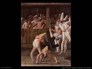 Tiepolo Giovanni Domenico Pulcinella e gli acrobati