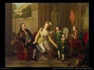 Tischbein Johann Friedrich August Ritratto della Famiglia Saltykov