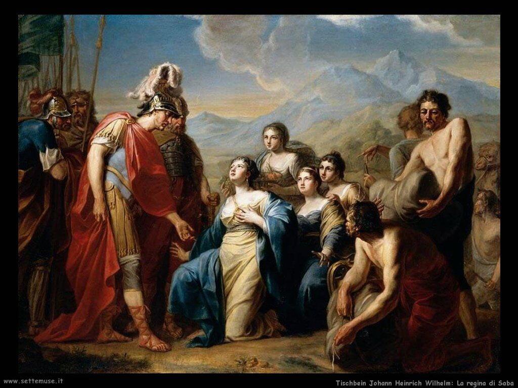 Tischbein Johann Friedrich August La Regina di Saba