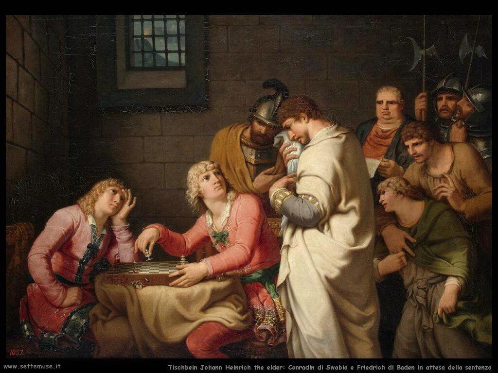 Tischebein Johann Heinrich the Elder In attesa della sentenza