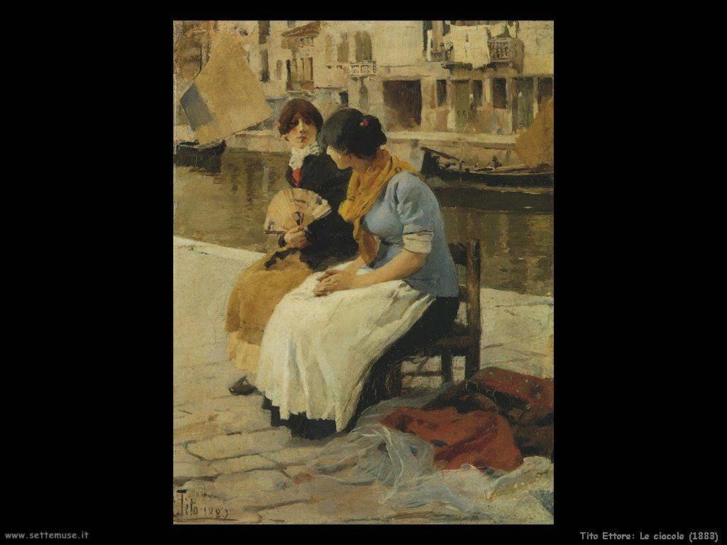 Le ciacole (1883)