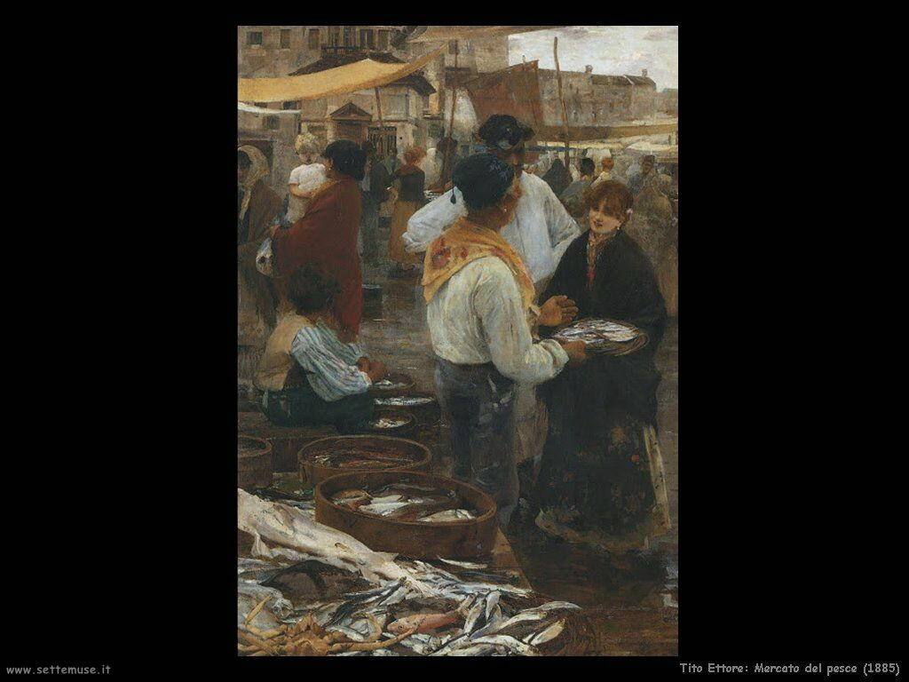 Mercato del pesce (1885)