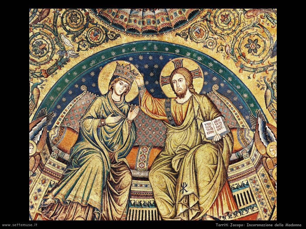 Torriti Jacopo Cristo incorona la Vergine (1296)