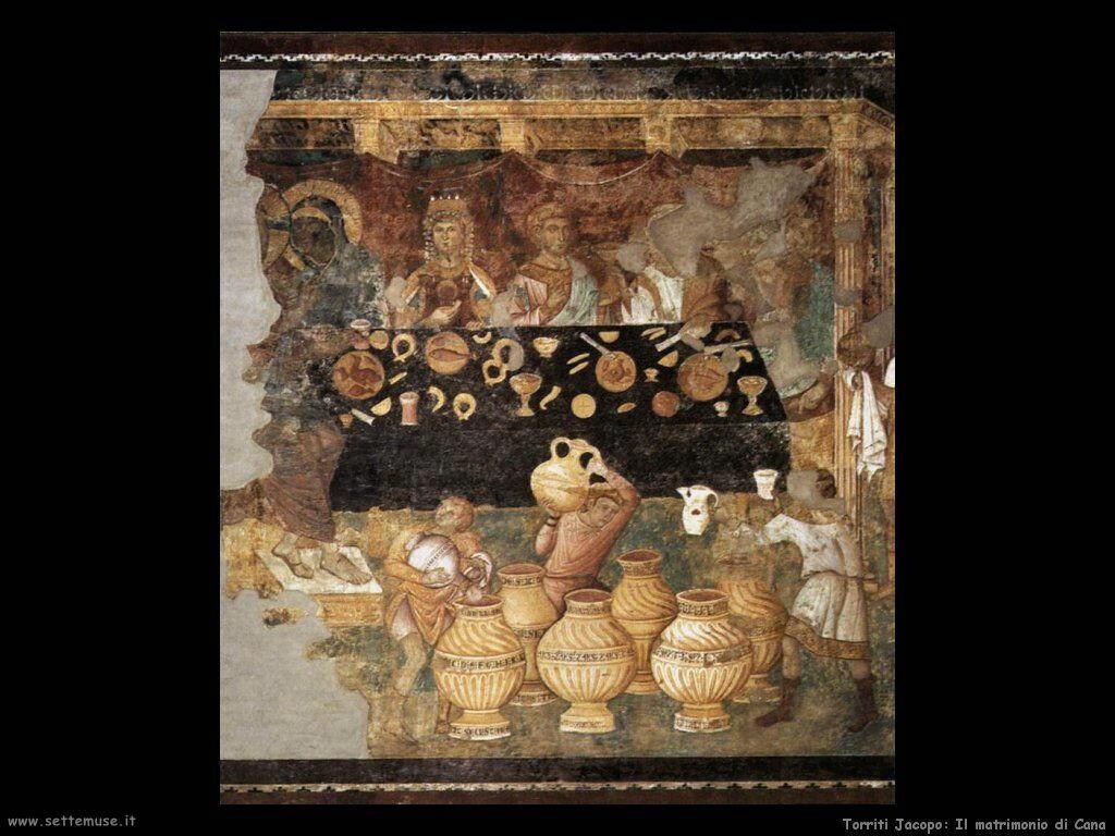 Torriti Jacopo Le nozze di Canaa
