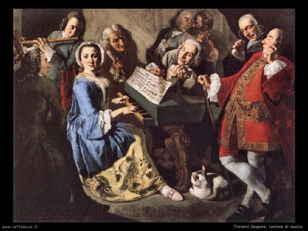 Traversi Gaspare Lezione di Musica