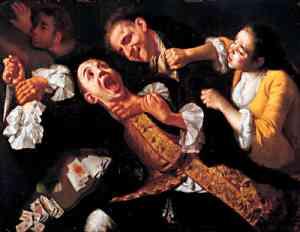 Dipinto di Gaspare Traversi