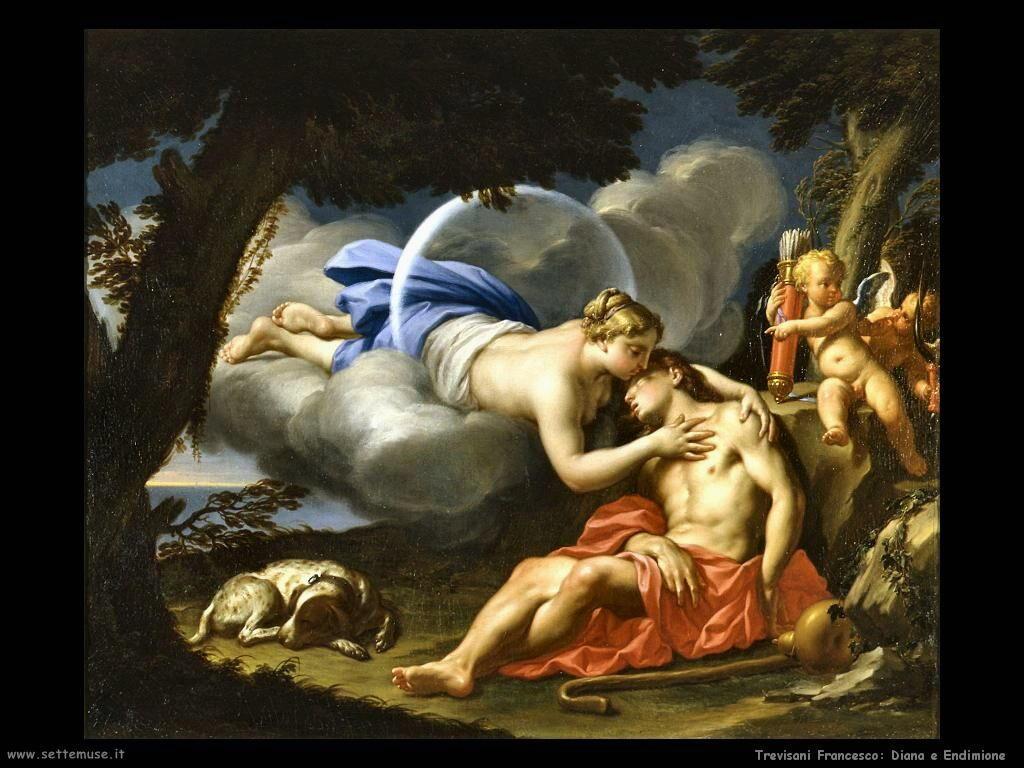 Trevisani Francesco Diana e Endymion