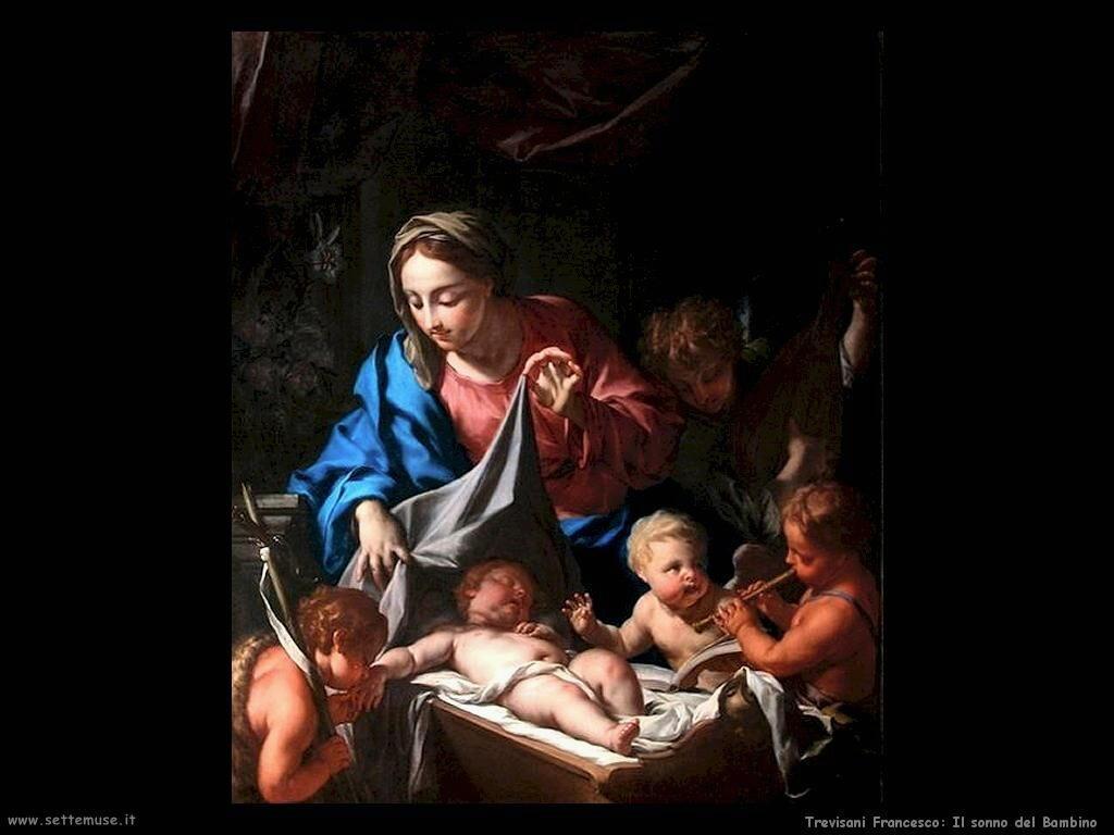 Trevisani Francesco Il sonno del Bambino