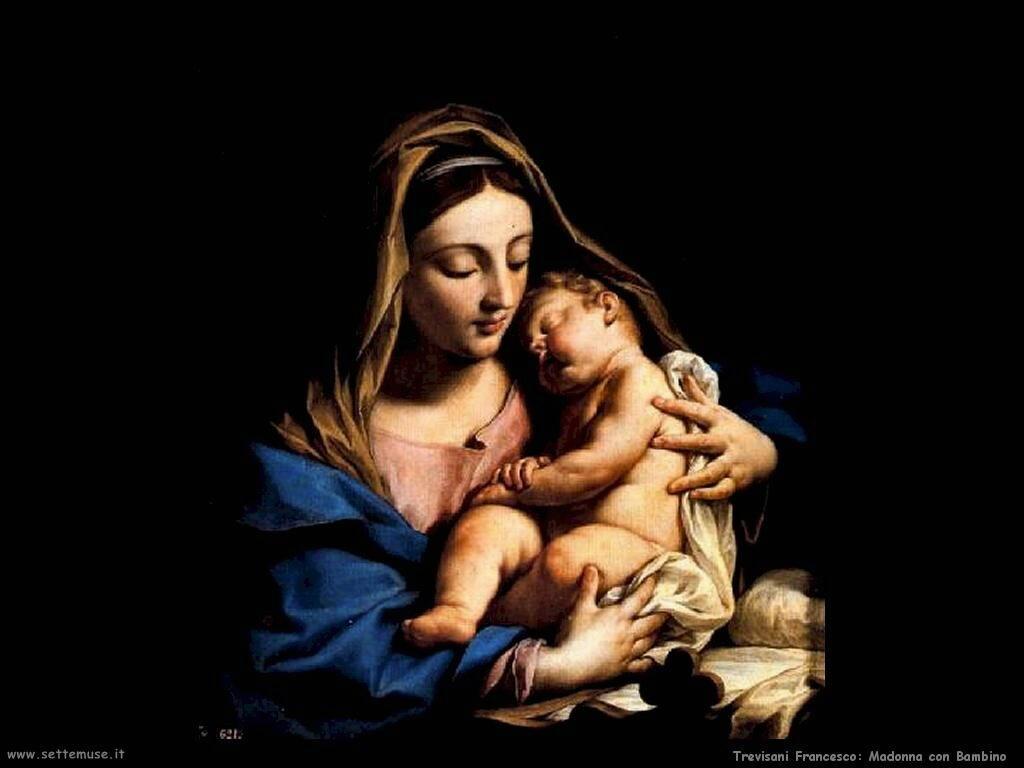 Trevisani Francesco Madonna col Bambino