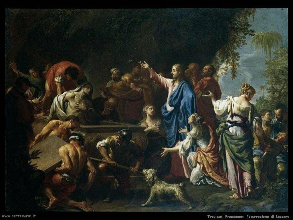 Trevisani Francesco Resurrezione di Lazzaro