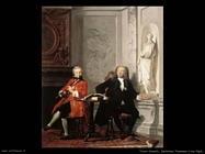 Troost Cornelis Jeronimus Tonneman e suo figlio