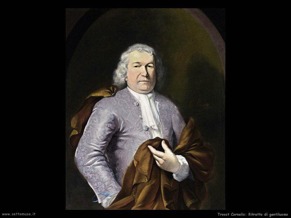 Troost Cornelis Ritratto di un nobiluomo