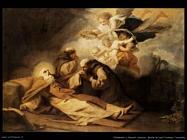 Morte di s.Antonio eremita Viladomat y Manalt Antonio
