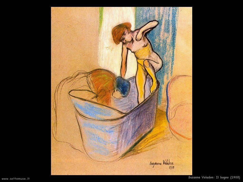 Valadon Susanne Il bagno (1908)