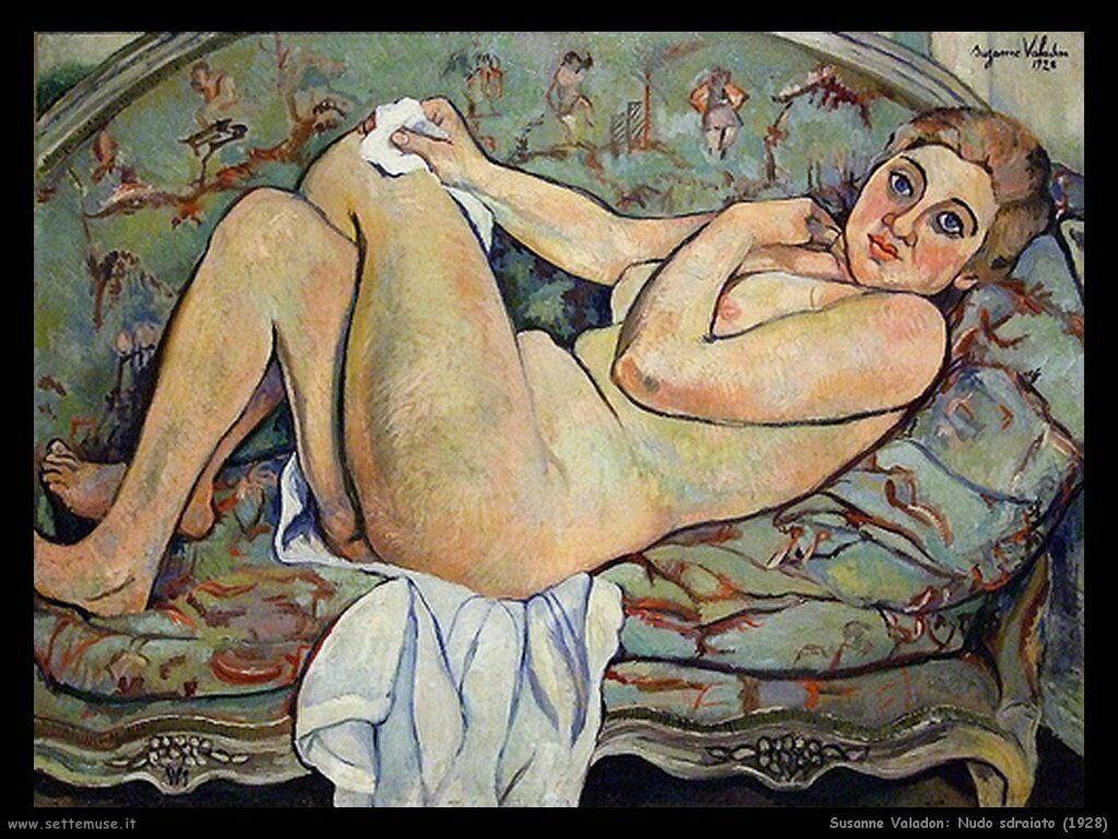 Valadon Susanne Nudo sdtaiato (1928)
