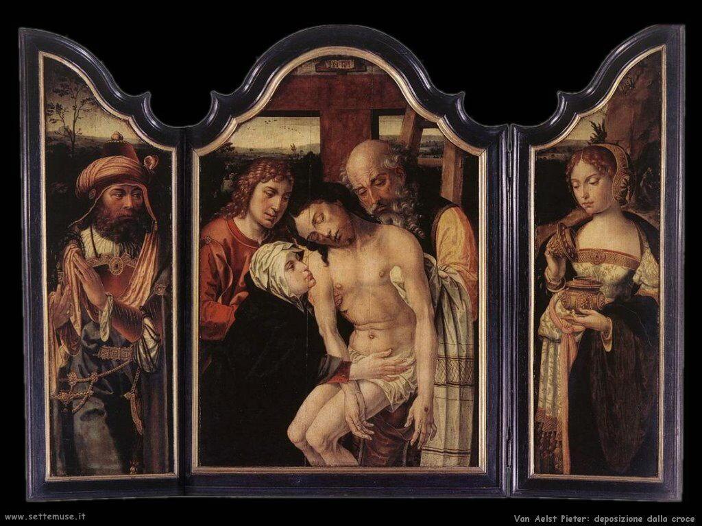 Van Aelst Pieter Deposizione dalla Croce
