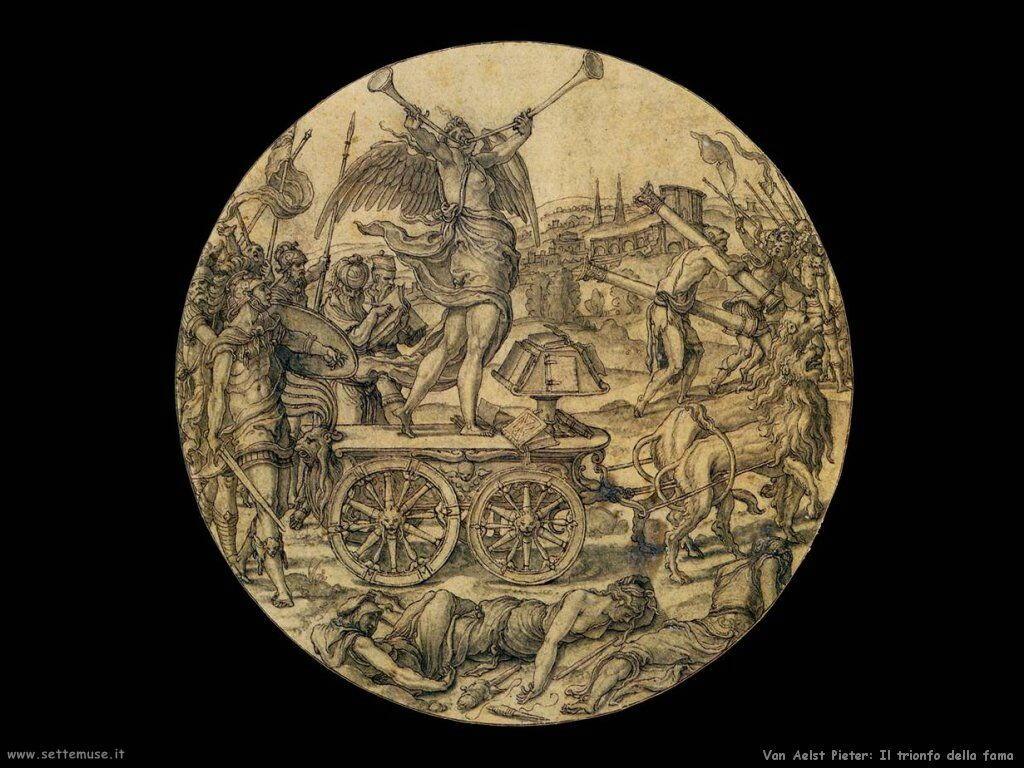 Van Aelst Pieter Il trionfo della Fama
