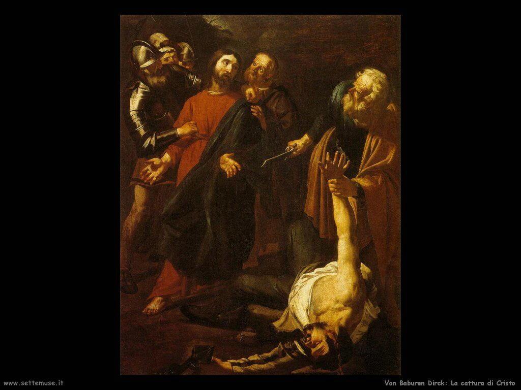 Van Baburen Dirck Cattura di Cristo