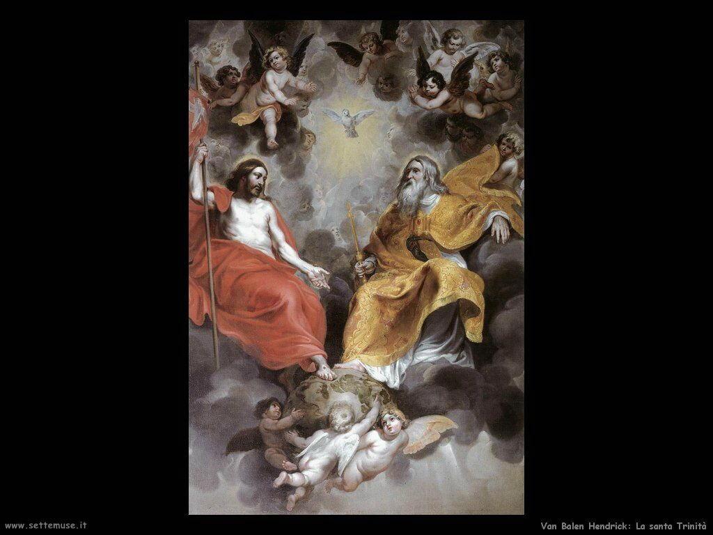 Van Balen Hendrick Santissima Trinità