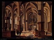Van Bassen Bartholomeus Interno della Cattedrale di Rhenen