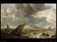 Van Beyeren Abraham Paesaggio fluviale