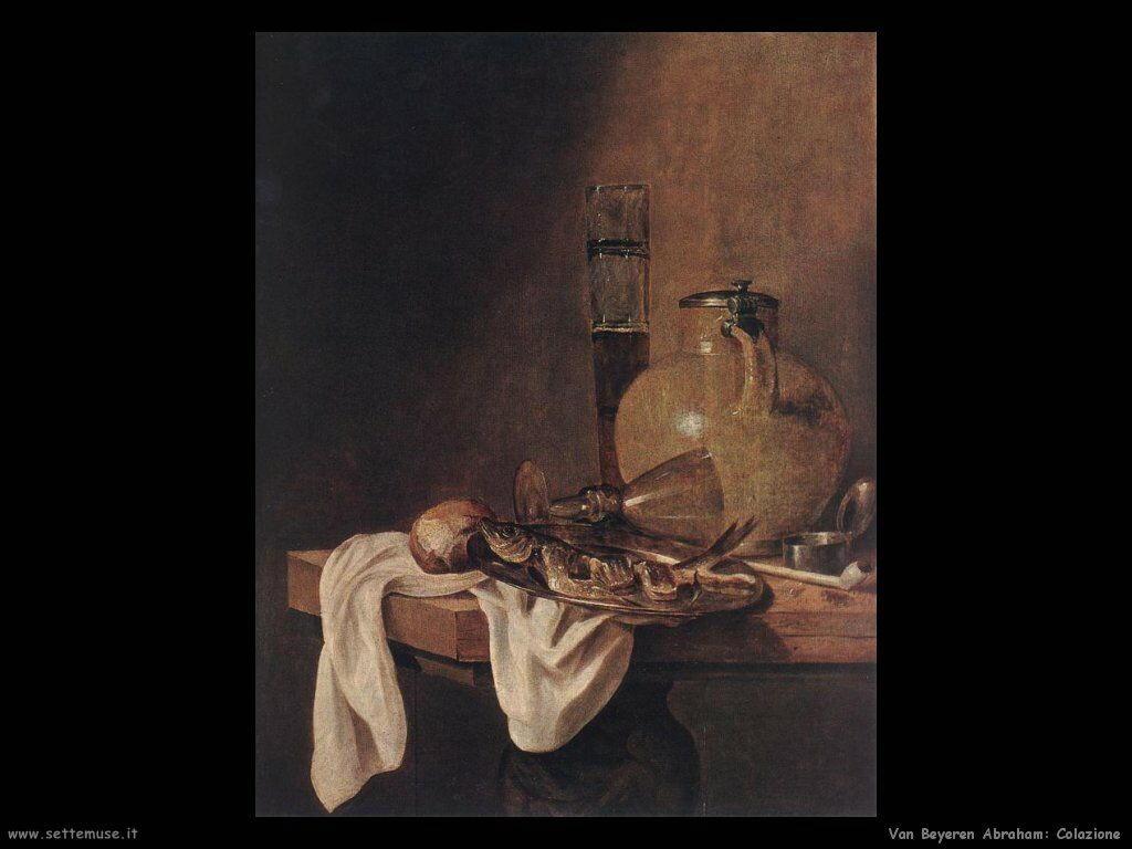 Van Beyeren Abraham La  colazione