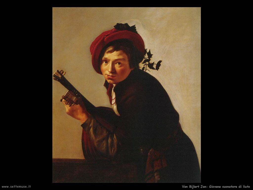 Van Bijlert Jan Giovane che suona il liuto