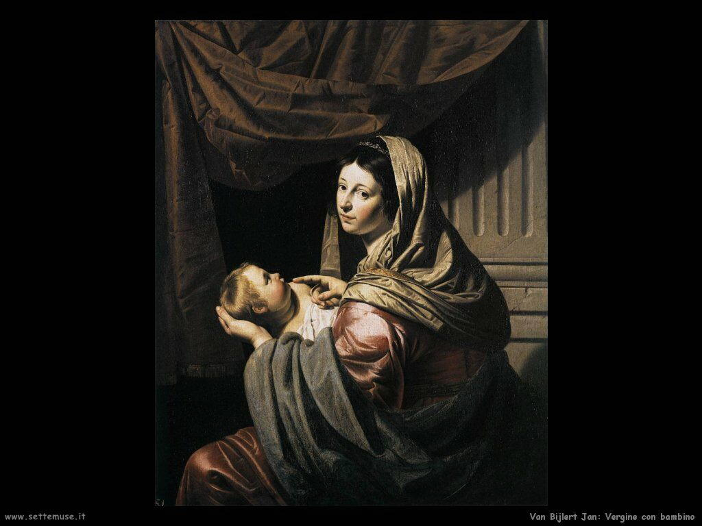 Van Bijlert Jan La vergine e il bambino