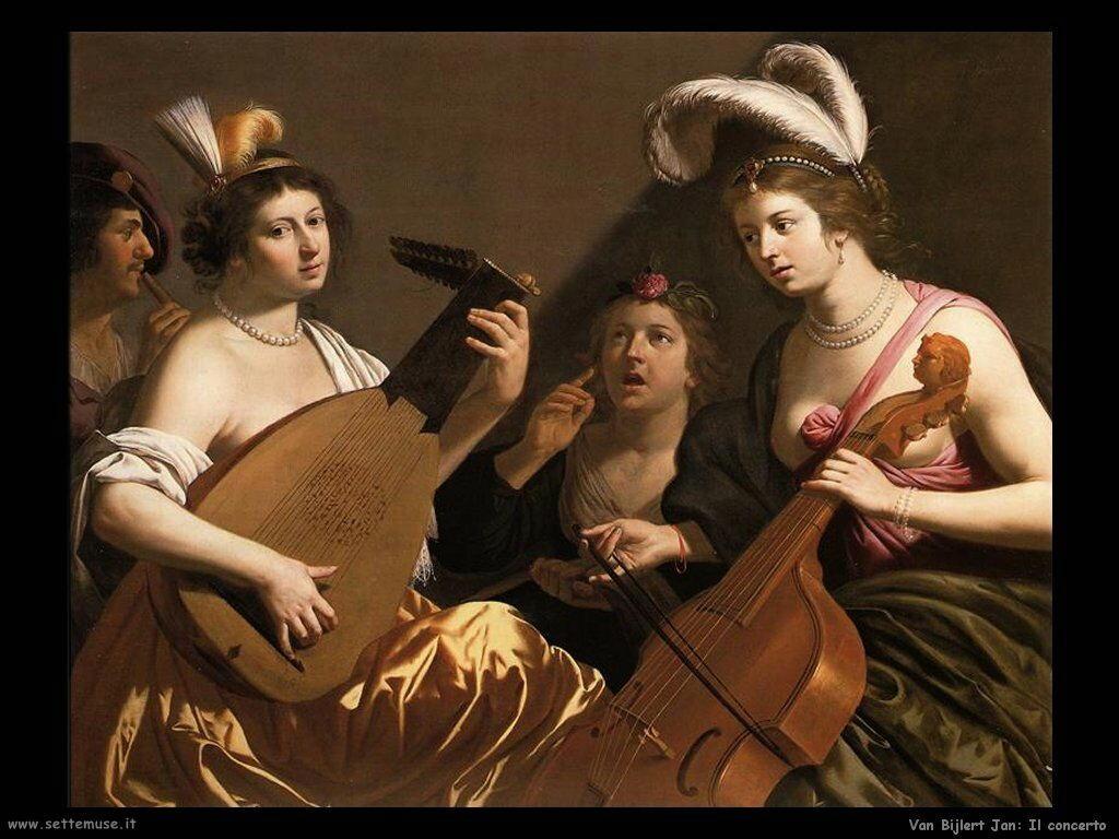 Van Bijlert Jan Il Concerto