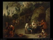 Van Bloemen Norbert Famiglia di contadini seduti a tavola