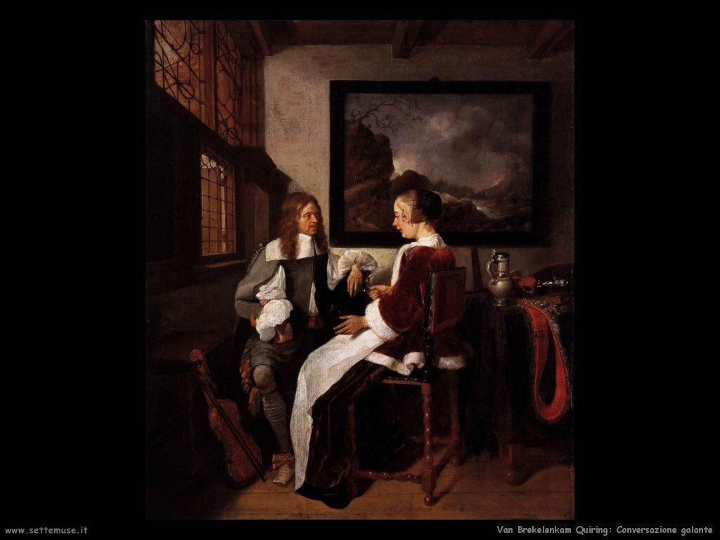 Van Brekelenkam Quiringh Conversazione galante