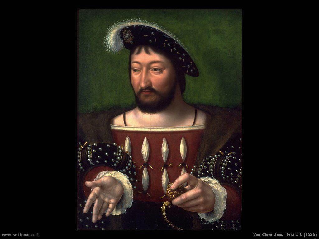 Van Cleve Joos Francesco I (1526)