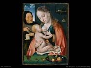 Van Cleve Joos La Sacra Famiglia (1512)