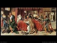 Van Cleve Joos Morte della Vergine