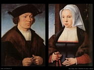 Van Cleve Joos Ritratto di un uomo e una donna
